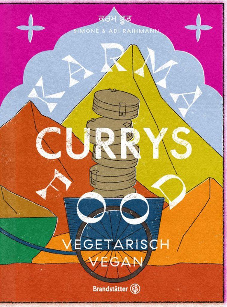 """Buchcover: """"Karma Food Currys"""""""